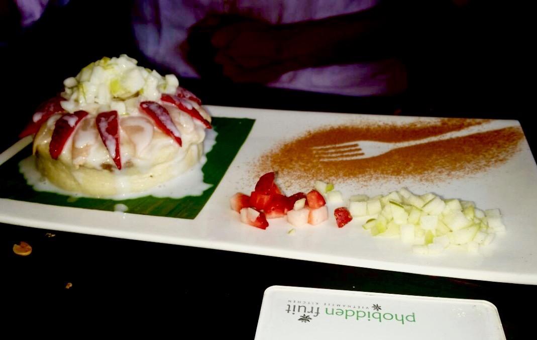 mung bean pudding @ phobidden fruit
